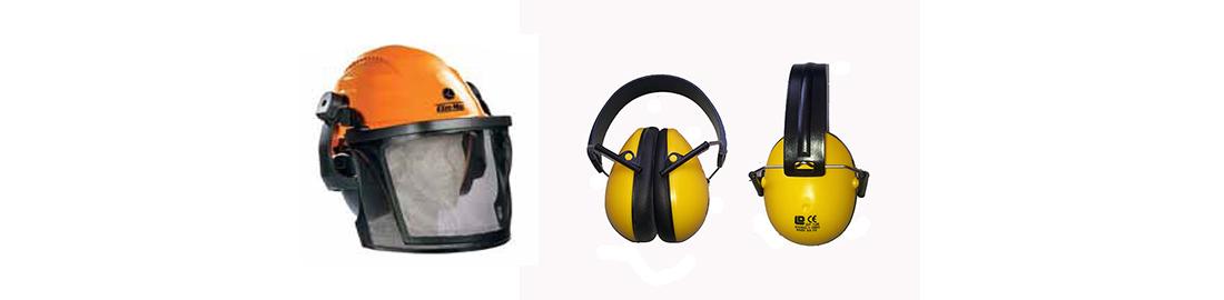 Oleo-Mac Fej és fülvédők